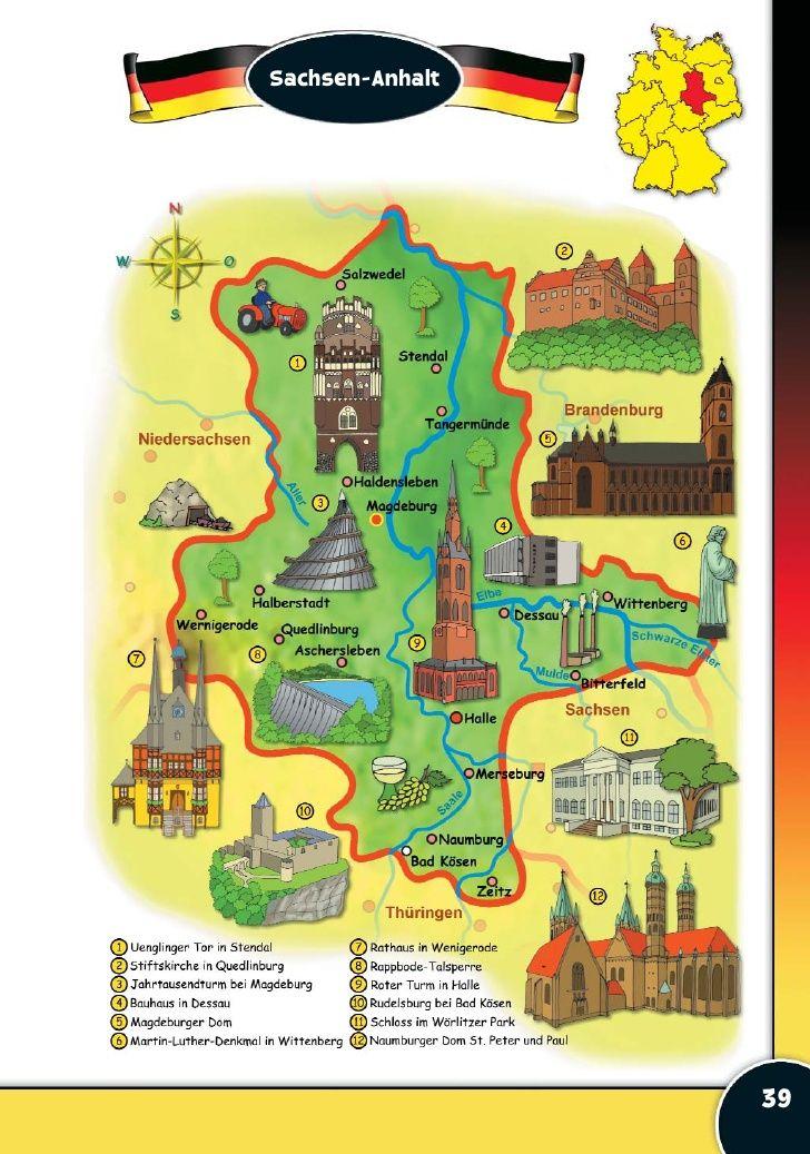 Deutschland Deutschland Deutsch Lernen Deutschlandkarte