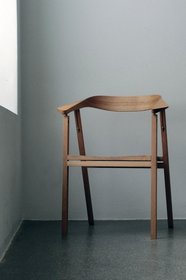 modern wooden chair. simple structures and organic forms. such a beautiful wooden chair. modern chair