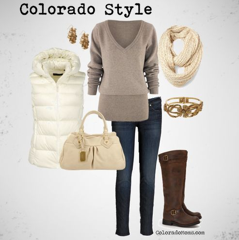 Colorado Style...very Mountain Chic...def could have use this last February visiting my friend damn