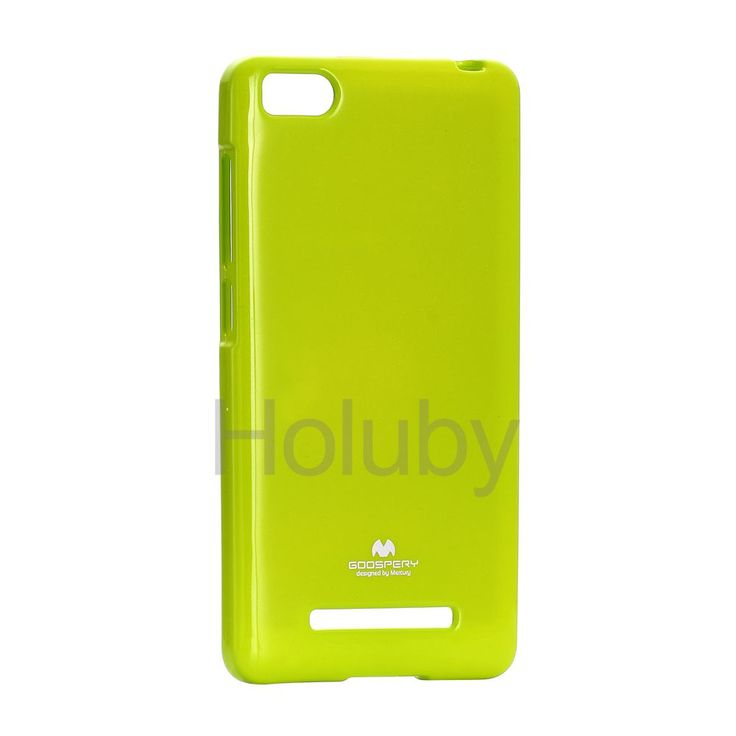 Mercury Goospery Color Pearl Jelly Series Soft TPU Back Case for Xiaomi Mi 4- Green