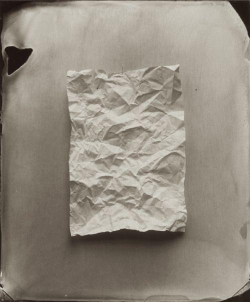 Ben Cauchi, Say Nothing, 2008 (tintype).