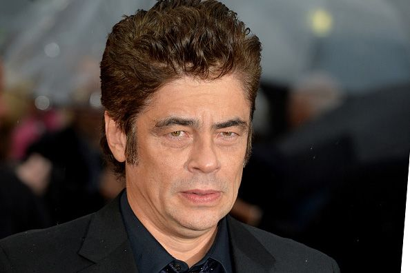 """LONDON, ENGLAND - SEPTEMBER 21:  Benicio Del Toro attends the UK Premiere of """"Sicario"""" at Empire Leicester Square on September 21, 2015 in London, England.  (Photo by Anthony Harvey/Getty Images)"""