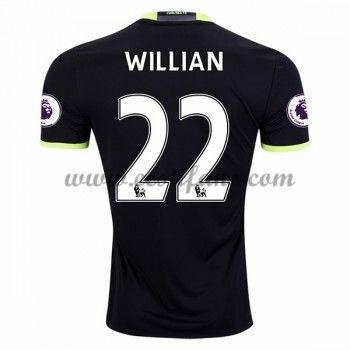 Chelsea Fotbalové Dresy 2016-17 Willian 22 Venkovní Dres