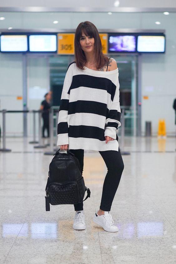 50 Looks de aeroporto