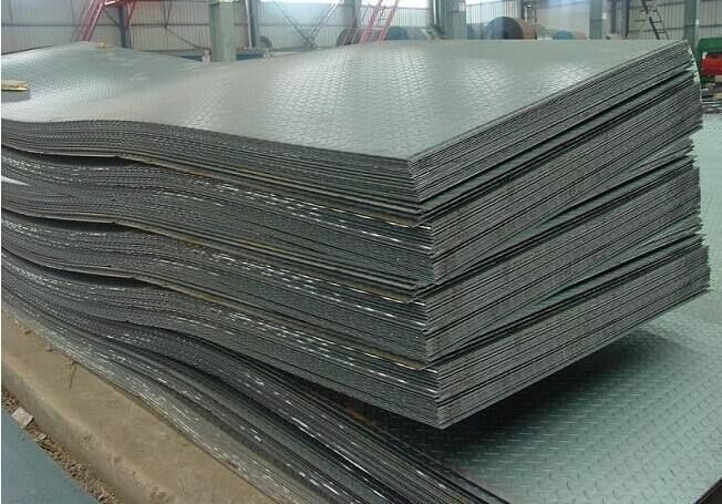 Q235b Checkered Steel Sheet For Indonesia Market Steel Sheet Steel Checkered