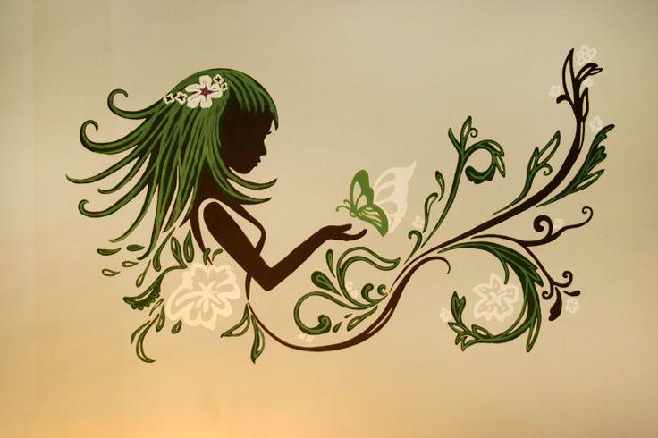 falfestmény - dekorációs falfestés