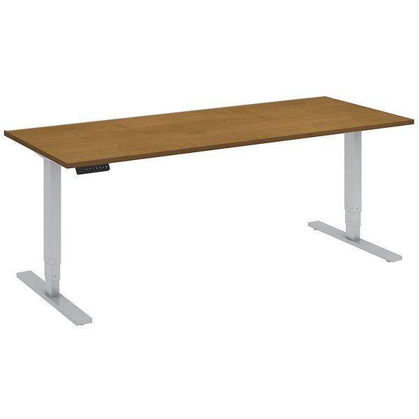 bbf 72x30 inch stand up motorized adjustable desk table by bush business furniture - Ergonomic Desk Design