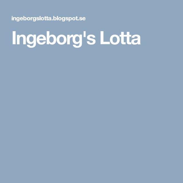 Ingeborg's Lotta