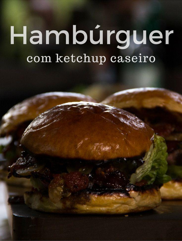 Com carne defumada, bacon com melado e pão tostado na brasa, esse hambúrguer conquista qualquer um pela barriga.