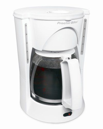 Proctor-Silex 48521 Automatic Drip Coffeemaker Best Price.  Proctor-Silex 48521 Automatic Drip Coffeemaker Feature: 12-Cup delegate silex white coffeemaker with auto stop & serve Removable blend basket Brew Str