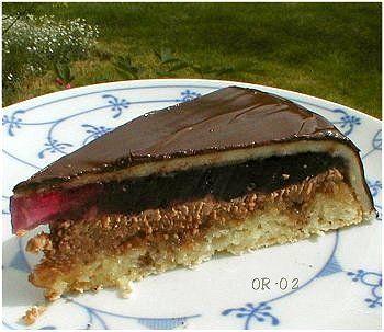 Mandelkake de luxe (Troika-kake)