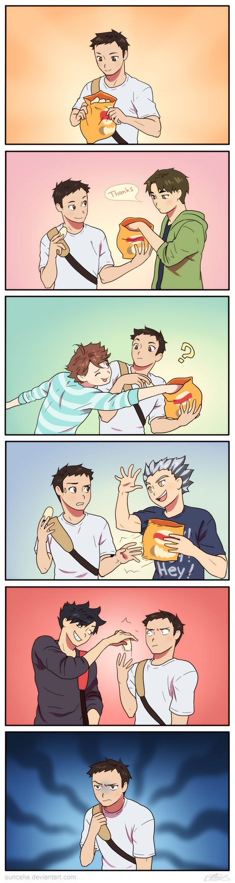 And that's when Daichi became official dad of everyone...