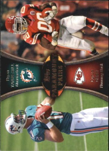 2012 Topps Paramount Pairs #PATG Ryan Tannehill / Cyrus Gray Dolphins Chiefs #MiamiDolphins