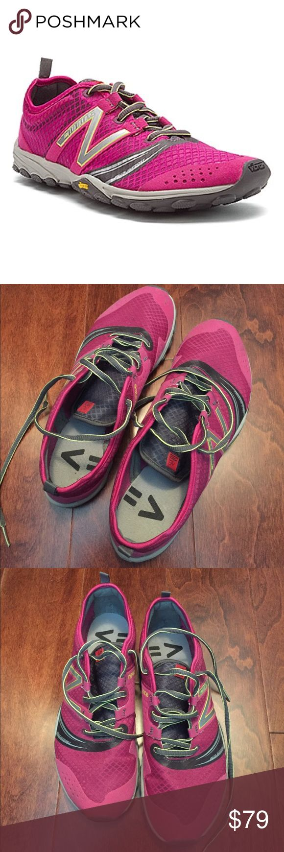 New Balance Minimus WT20BG2 Trail Running Shoe, 9 Pink/Black.  In great condition, like new, lots of tread left.  Circa 2013. New Balance Shoes Sneakers