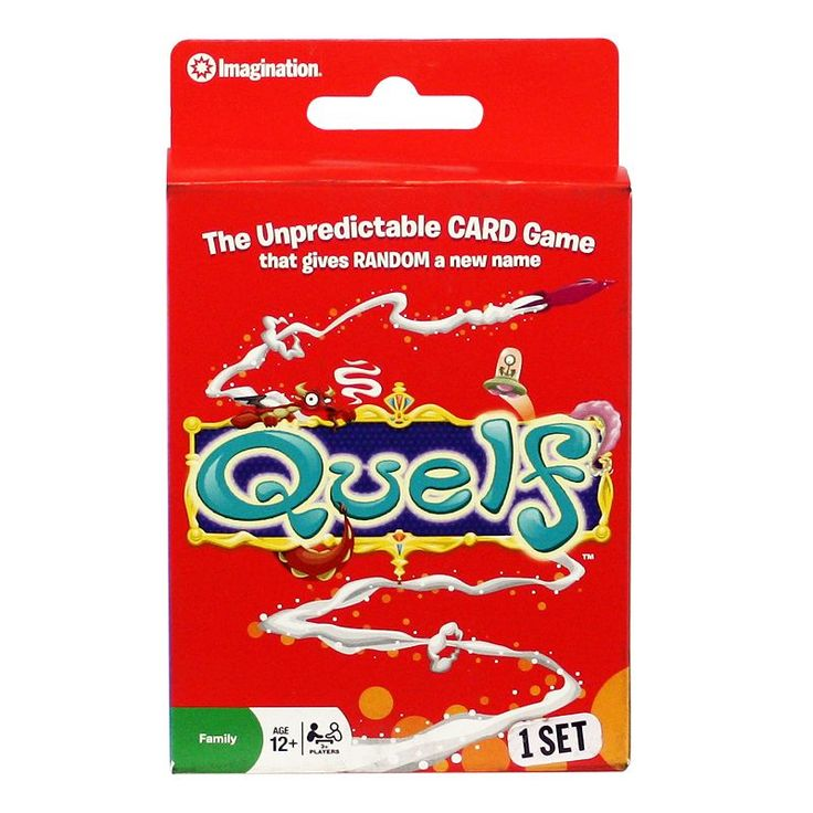 Quelf Game by Spin Master, Multicolor
