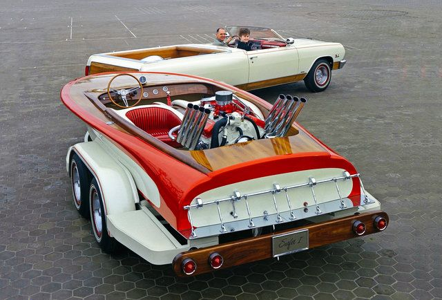 The Story Behind The Greatest Car/Boat That GM Never Made