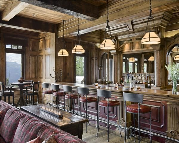 Country/Rustic (Country) Bar By Jerry Locati · Game Room ...