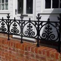 Cast iron railings - Terrace