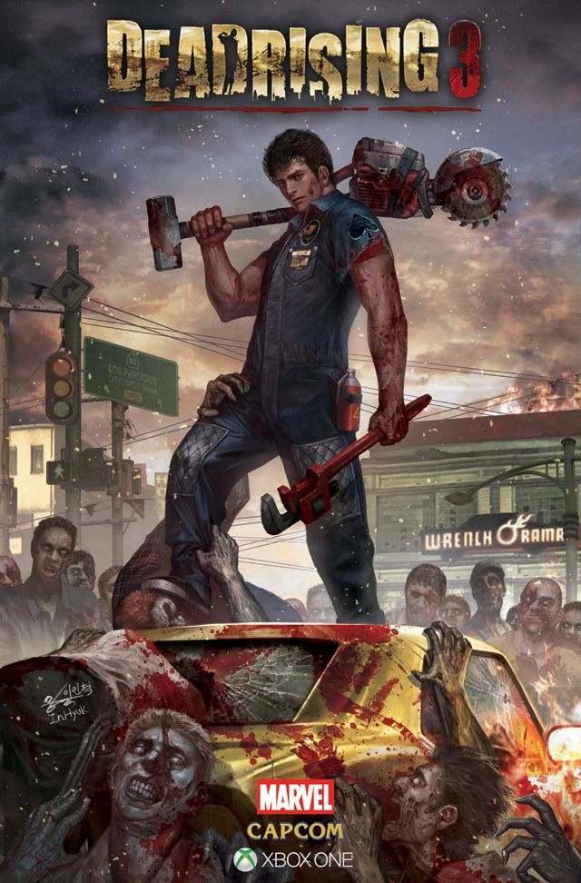 36 best deadrising images on pinterest videogames dead rising 3 deadrising3s prequel art by in hyuk lee read the digital comic online at http malvernweather Images