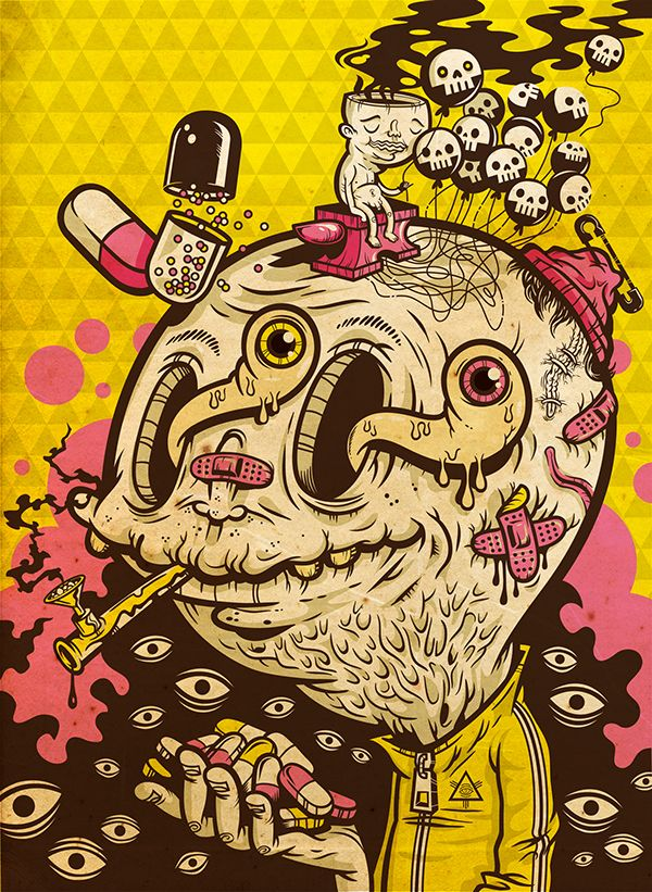 Ole Cracky is a person too. by Kenny Poppins, via Behance