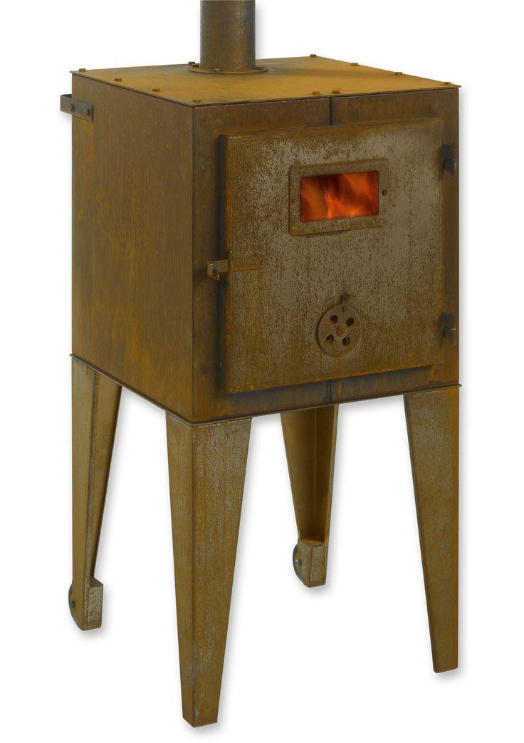 piet hein eek ontwikkelde met tulp deze stoere corten. Black Bedroom Furniture Sets. Home Design Ideas