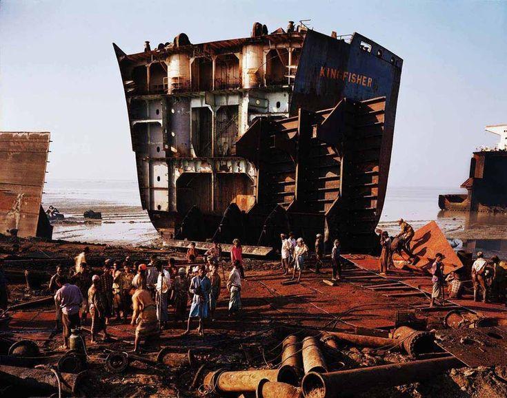 Bangladesh Ship Breaking - Edward Burtynsky