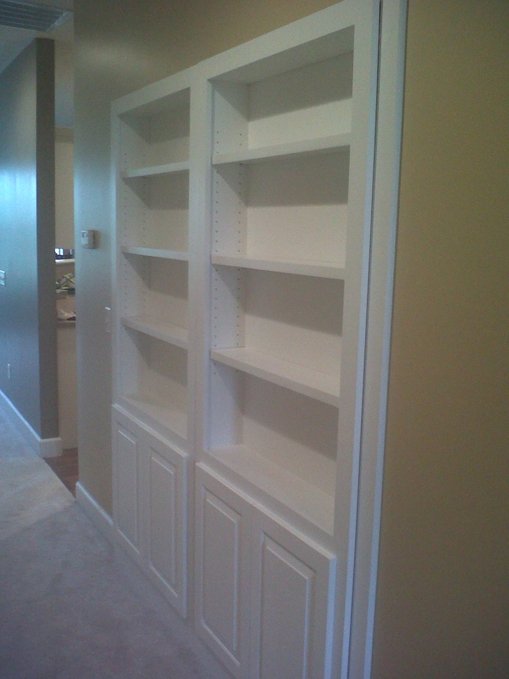 Mauk Cabinets Designed This Bookcase To Replace Ugly Bi