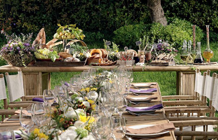 Δειπνοσοφιστήριον - Garden gathering µε άψογο art de la table