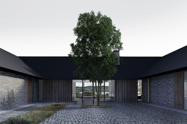 TEA HOUSE - Baks Arkitekter Court yard