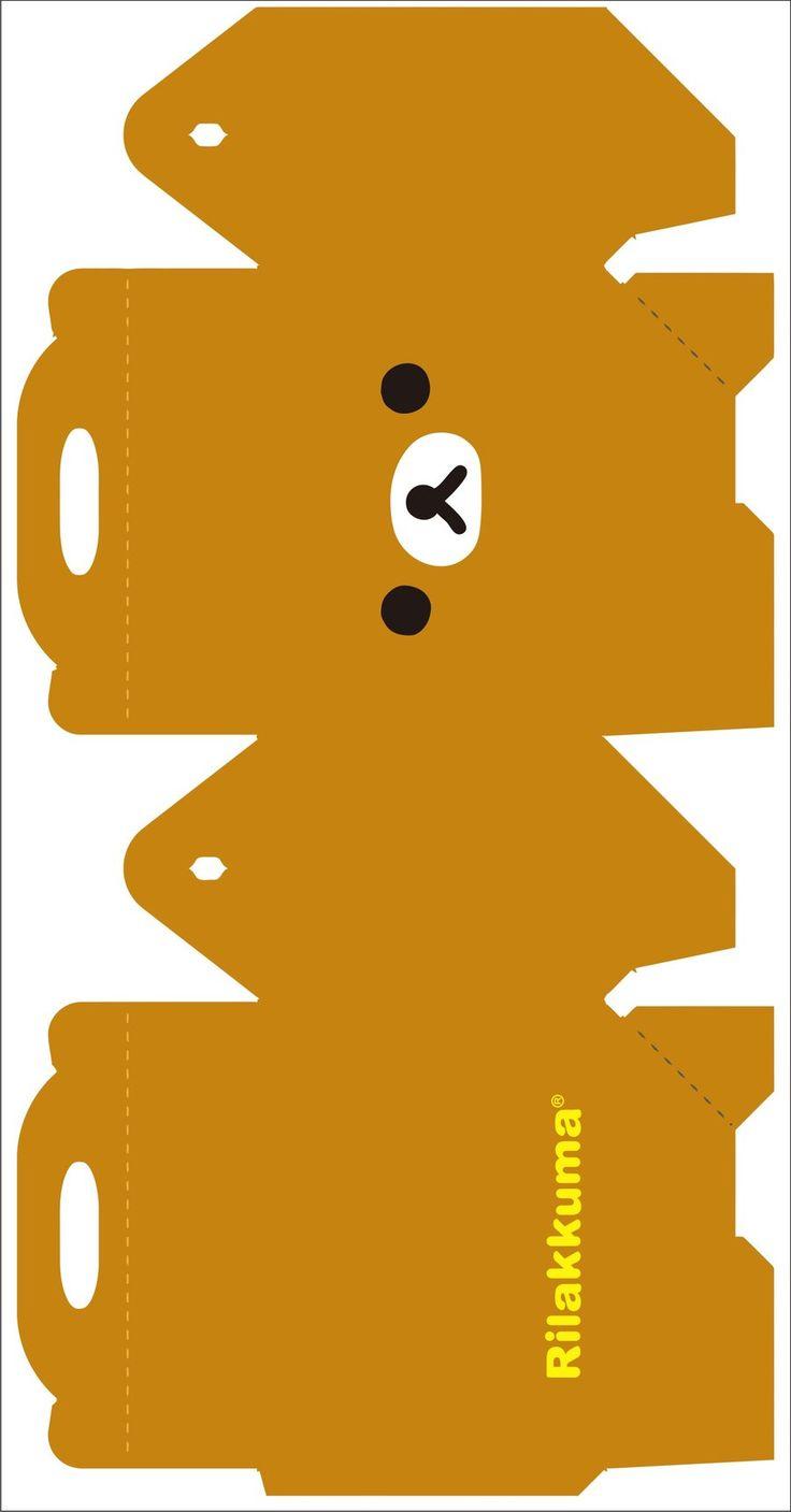 Rilakkuma box 1 by kreystalx.deviantart.com on @DeviantArt | Paper Creative | Pinterest | Boxes ...