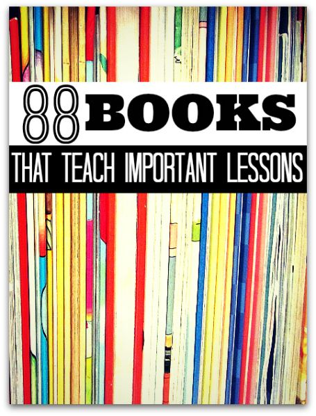 Books that teach kids important lessons. What book would you add?