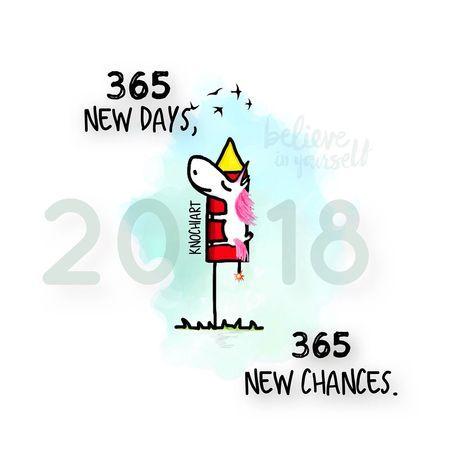 Countdown ~ #2018 ~ Wird Mein Jahr 365 New Days,365 New Chances.