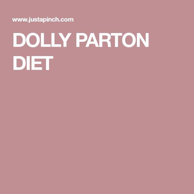 DOLLY PARTON DIET