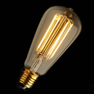Ampoule LED Edison Vintage Bell E27 4W | Prix mini