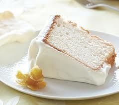 Lemon Angel Food Cake (7 Points+)  #WeightWatchers #HealthyRecipes #AngelFoodCake