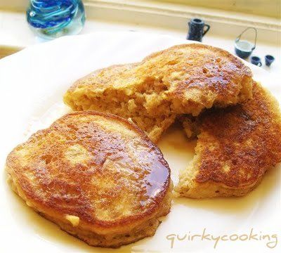 Quirky Cooking: Apple-Oat Fritters. Really yummy, makes a big batch, nice cold later on in day.