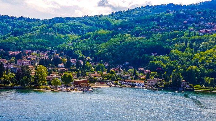 View in Lake Maggiore