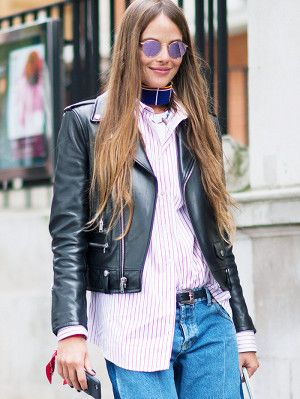 Shop the Best Leather Jackets, Because It's Finally Time to Ditch the Coat