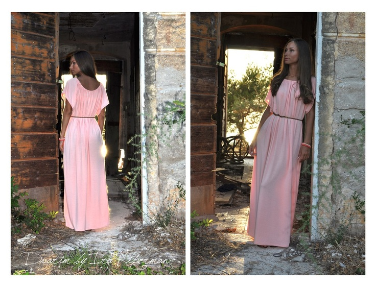 Peach color dress via Dvarim by Ira Kiperman. Click on the image to see more!