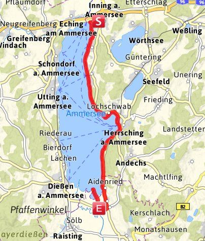 Hikes in Herrsching am Ammersee » Outdooractive.com