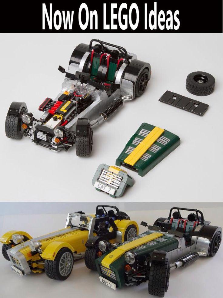Caterham Lego
