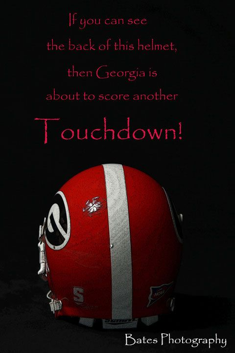 University of Georgia Football art print home office by 83Bates