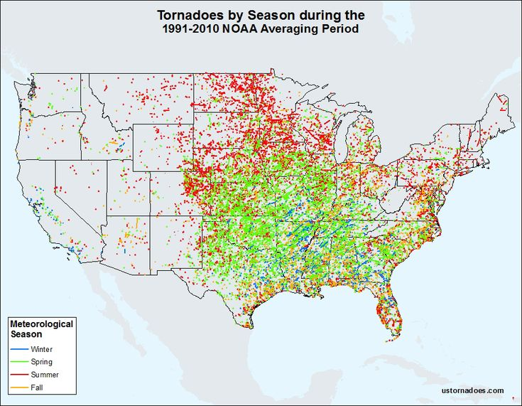 Tornado season in common parlance is usually thought of as