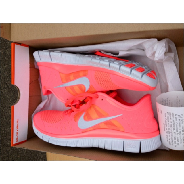 There are 13 tips to buy these shoes: nike nike coral pink pink pink  sneakers light pink neon nike free run nike running sportswear peach color  girls nikes ...