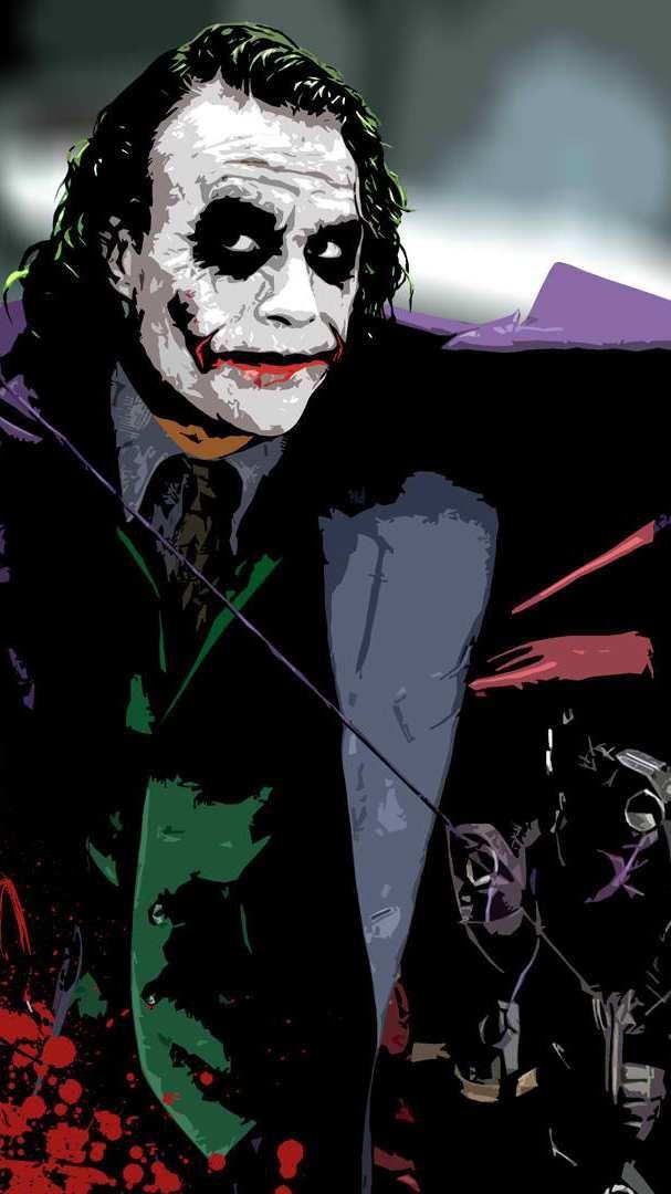 Heath Ledger Joker Wallpaper Wallpaper Joker Iphone Wallpaper Heath Ledger Joker Wallpaper Joker Artwork Awesome joker wallpaper for iphone 6