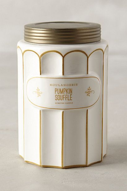 Boulangerie Pumpkin Shuffle Scented Candle #anthropologie #fallfave #musthave