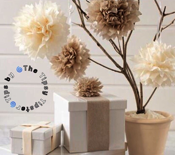 Beautiful, Easy, And Inexpensive DIY Paper Flowers!  #tipit#Decor#Trusper#Tip