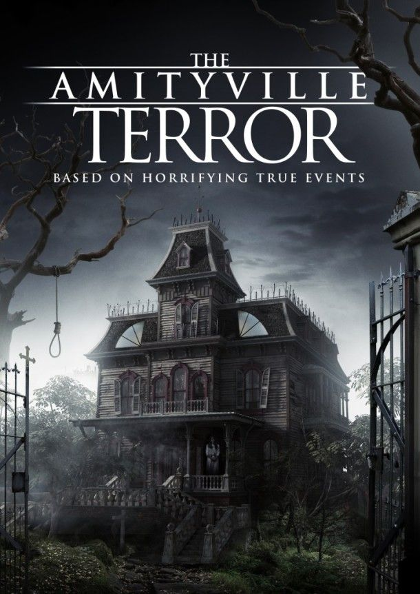 AMITYVILLE TERROR Trailer / Artwork and more Details: Director Michael Angelo brought us his latest horror film… #AmityvilleTerror #Poster