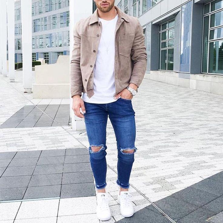Ber ideen zu zerissene jeans auf pinterest for Zerissene jeans herren