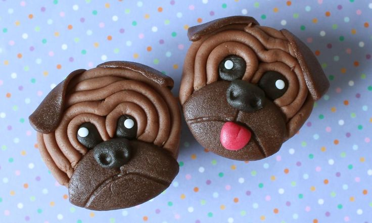 Puppy Cupcakes recept | Dr. Oetker